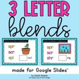 3 Letter Blends for Google Slides™