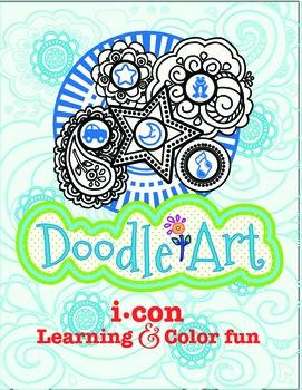 3 Letter CVC Words + Doodle Art - Pac 2