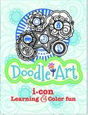 3 Letter CVC Words + Doodle Art - Pac 4