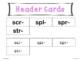 3 Letter Consonant Blends Word Sort Grades 1-3