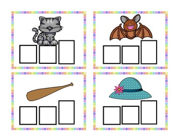 3 Letter Word Cards