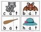 3 Letter Word Cards CVC