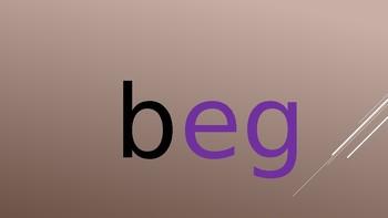 3-Letter Word Families slides for vowel sound E