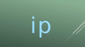 3-Letter Word Families slides for vowel sound I