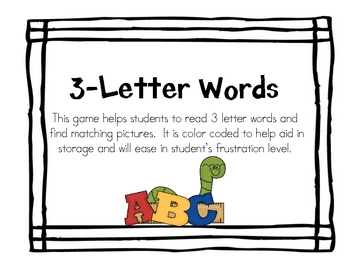 3 Letter Word Game