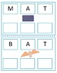 3 Letter Words Workbook (working with wooden letters) Free Sample