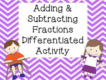3 Level Fraction Practice