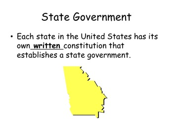 3 Levels of Government