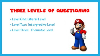 3 Levels of Questioning