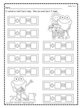 Flashcards - 3 Levels - Springtime Frog Edition
