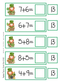 Flashcards - 3 Levels - St. Patty's Day Edition