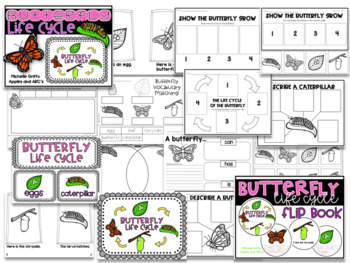 3 Life Cycles: Frog, Chicken, Butterfly {Bundled} / Distance Learning