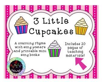 3 Little Cupcakes Teacher Pack