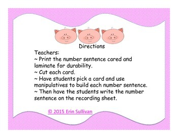 3 Little Pigs Addition