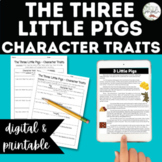 3 Little Pigs Character Traits