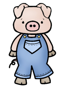 three little pigs clip art by whimsy workshop teaching tpt rh teacherspayteachers com three little pigs clipart png three little pigs clipart