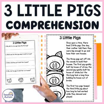 3 Little Pigs Comprehension