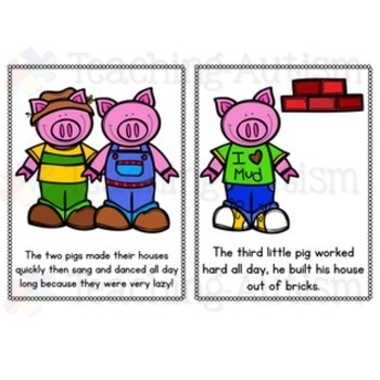 3 Little Pigs Story - Simplified