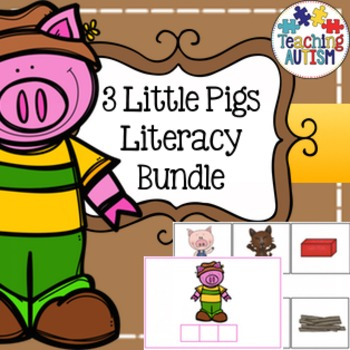 3 Little Pigs Literacy Activities