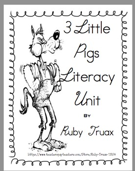 3 Little Pigs Literacy Unit