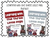 3 Little Pigs Literacy and Math Activities