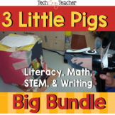 Project Based Learning with STEM and Literacy: 3 Little Pigs Bundle