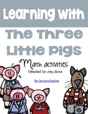 3 Little Pigs Math Activities