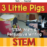 Project Based Learning with STEM: 3 Little Pigs