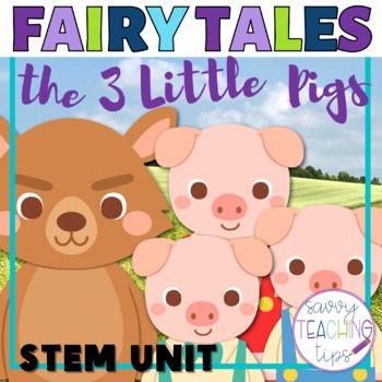 3 Little Pigs STEM Challenges