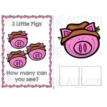 3 Little Pigs Adapted Books