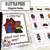 3 Little Pigs Adapted Books for Special Education