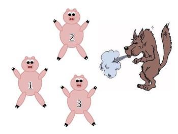3 Little Pigs Visuals