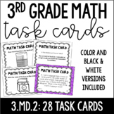 3.MD.2  3rd Grade Math Task Cards (Measurement: Mass and L