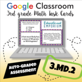 ⭐ SELF-GRADING ⭐ 3.MD.2 Task Cards ⭐ Volume and Mass