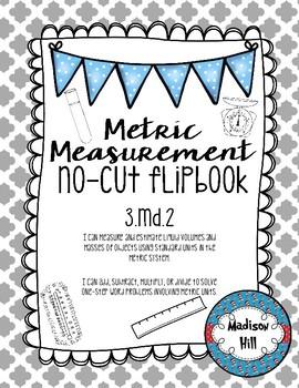 3.MD.2 Volume and Mass No-Cut Flipbook