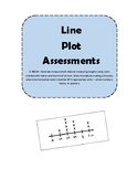 3.MD.4 Line Plot and Measurement Homework or Assessments (NO PREP)