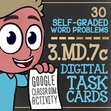 3.MD.7c ★ Area & The Distributive Property ★ Area by Tiling ★ Google Classroom™
