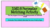 3.MD.8 Perimeter Matching Game {Differentiated Answer Sheets}