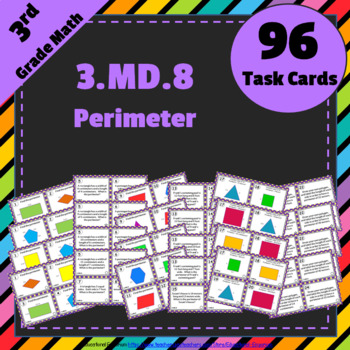 3.MD.8 Task Cards: Perimeter of Polygons Task Cards: Perimeter Task Cards 3.MD.8