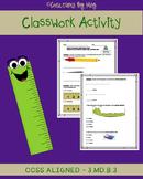 3.MD.B.3 Measuring Classwork Activity