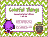 3.MD.B.4 Colorful Things Measurement Lessons & Task Cards