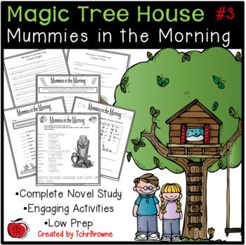 #3 Magic Tree House- Mummies in the Morning Novel Study