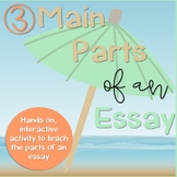3 Main Parts of an Essay: Umbrella Activity