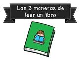 3 Maneras de Leer 3 Ways to Read Posters
