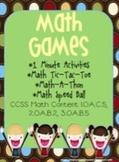 4 Math Games