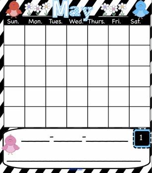 3 May Interactive SmartBoard Calendars