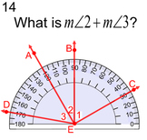 Measuring Angles for PDF, 6 Assignments - No Protractor Needed