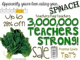 3 Million Teachers Strong Sale Flyer