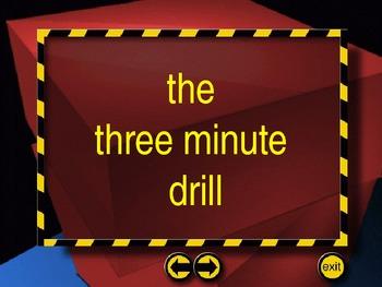 3 Minute Drill