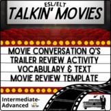 3-Minute Movie Reviews: Speaking, Writing, Vocabulary & Sa